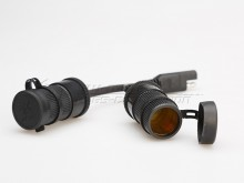 Adaptér SAE SW-Motech - dual zásuvky velké 25 cm