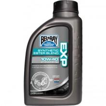 Motorový olej BEL-RAY EXP Synthetic Ester Blend 4T 10W-40 1L.
