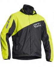 Lindstrands WP Jacket bunda do deště, černá / fluo. žlutá