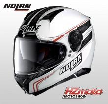 Nolan N87 RAPID N-Com C17 Metal White