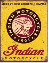 Indian Motorcycle Since 1901 - plec...