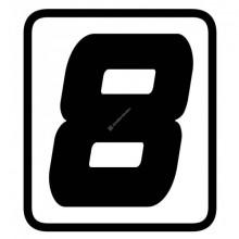 Samolepka číslo 8, Barracuda