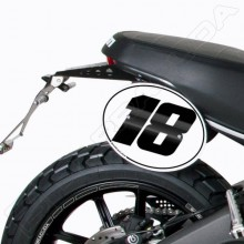 Ducati 800 Scrambler (15-) - Tabulky na čísla Barracuda