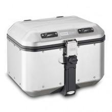 Horní hliníkový kufr Givi DLM46 Trekker Dolomiti, 46 l stříbrný