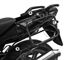 Honda CBF 600 (04-12) - demontovatelný nosič kufrů Givi V35, V37