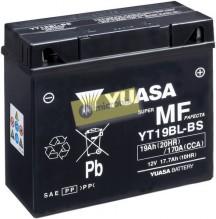 Motobaterie Yuasa YT19BL-BS 12V 17,...