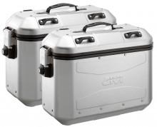 Boční hliníkové kufry Givi DLM36APACK2 Trekker Dolomiti - 36/36 l, 1 pár