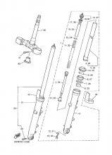 Yamaha XJR 1300 (02-06) - trubka přední vidlice, originální díl