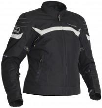 Lindstrands Che Lady - dámská textilní bunda, černá / bílá