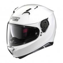 Nolan N87 CLASSIC N-Com C05 Metal White