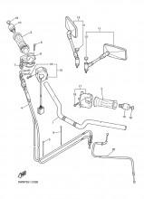 Lanko sytiče Yamaha XJR 1200/1300 (95-01)