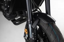 Yamaha MT-09 (13-) - černý hliníkový přední blatník, SW-Motech