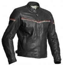 Kožená motocyklová bunda Halvarssons EAGLE - černá/červená
