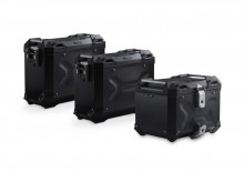 Adventure set hliníkových kufrů TRAX ADV černé provedení BMW R 1200 GS LC (13-)