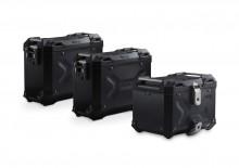 Adventure set hliníkových kufrů TRAX ADV černé provedení BMW F 800 / 700 / 650 GS (08-)