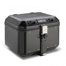 Horní hliníkový kufr Givi DLM46B Trekker Dolomiti, 46 l černý