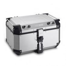 Hliníkový kufr 58 l. Givi Trekker Outback OBKN58A, horní stříbrný
