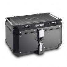 Hliníkový kufr 58 l. Givi Trekker Outback OBKN58B, horní černý