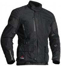 Halvarssons WIEN BLACK pánská textilní motocyklová bunda