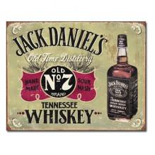 Jack Daniels - Hand Made - plechová cedule 40x32 cm