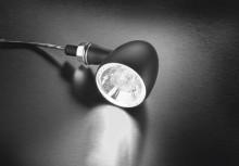 Blinkr / poziční světlo bílé Bullet 1000® PL Kellermann - černé tělo, čiré sklo