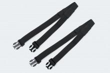 Upínací popruhy pro zadní tašky SW-Motech 2 ks - SW-Motech BC.ZUB.00.003.30000