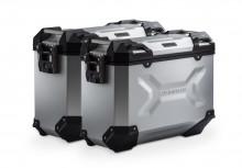 Yamaha XT 700 Z Ténéré (19-) - sada bočních kufrů TRAX Adventure 37 l. s nosiči stříbrné kufry