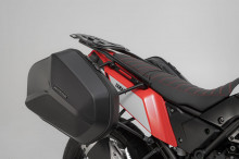 Yamaha XT 700 Z Ténéré (19-) - sada bočních kufrů AERO 25 l. s nosiči, SW-Motech KFT.06.799.60100/B