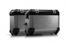 Yamaha XT 700 Z Ténéré (19-) - sada bočních kufrů TRAX ION 37 l. s nosiči stříbrné kufry