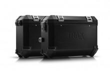 Yamaha XT 700 Z Ténéré (19-) - sada bočních kufrů TRAX ION 37 l. s nosiči černé kufry