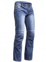 Lindstrands Wrap 51 vel. XL - vyztužené motocyklové jeansy Sky Blue