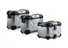 Adventure set hliníkových kufrů TRAX ADV stříbrné provedení BMW R 1200 GS LC (13-)