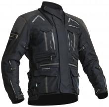 Lindstrands OMAN - Black pánská textilní motocyklová bunda