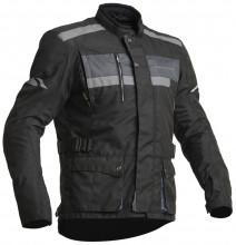 Lindstrands HAMAR - Black pánská textilní motocyklová bunda