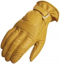 Lindstrands LAUDER Yellow letní motocyklové rukavice