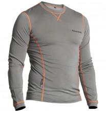 Halvarssons Light Wool Sweater Grey - triko s dlouhým rukávem