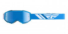 Brýle Zone 2019, Fly Racing - USA (modré, modré chrom plexi)