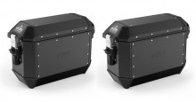 Boční hliníkové kufry Givi ALA36BPACK2 Trekker Alaska - 36/36 l, 1 pár černé