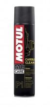 Motul Carbu Clean P1 400 ml. čistič karburátorů