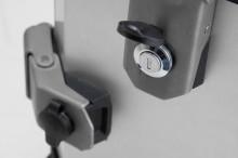 Zámky pro hliníkový kufr TRAX, 2 ks + 2 ks klíčů
