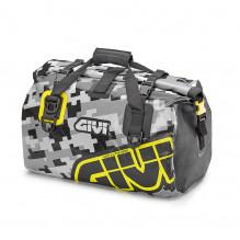 Voděodolná přepravní taška EA115CM kamufláž šedá + žlutá 40l.,Givi