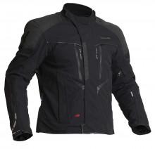 Halvarssons Vansbro Black - pánská textilní motocyklová bunda