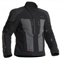 Halvarssons Vansbro Black/grey - pánská textilní motocyklová bunda