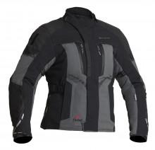 Halvarssons Vimo Black/grey - dámská textilní motocyklová bunda