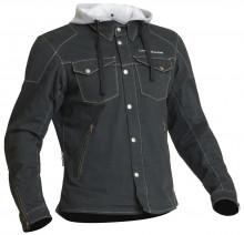 Lindstrands Bjurs Grey - pánská textilní motocyklová bunda