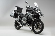 BMW R 1200 GS LC Rallye (17-) - Adventure Set - Ochranné prvky, stříbrný