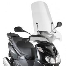 Aprilia Sportcity One 50 / 125 (08-) - čiré vyšší plexi Givi 136A