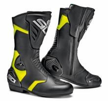 Sidi BLACK RAIN v. 45 turistické motocyklové boty, černé s reflexními panely