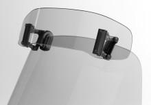 """Deflektor na plexisklo kouřový MRA VSA typ """"C""""  31/18 cm"""