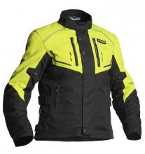 Jofama NEPTUNE LADY černá/žlutá dámská motocyklová textilní bunda
